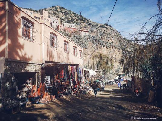 The main street of Setti Fatma