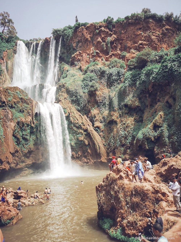 ouzoud, waterfalls, morocco