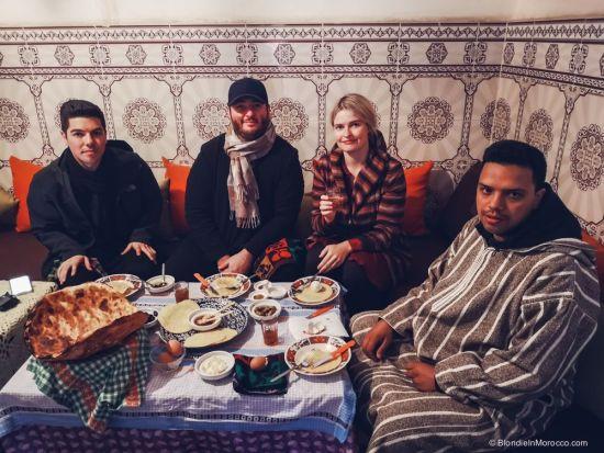 family, berbers, morocco, food