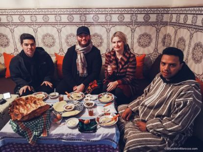 family, berbers, morocco, food