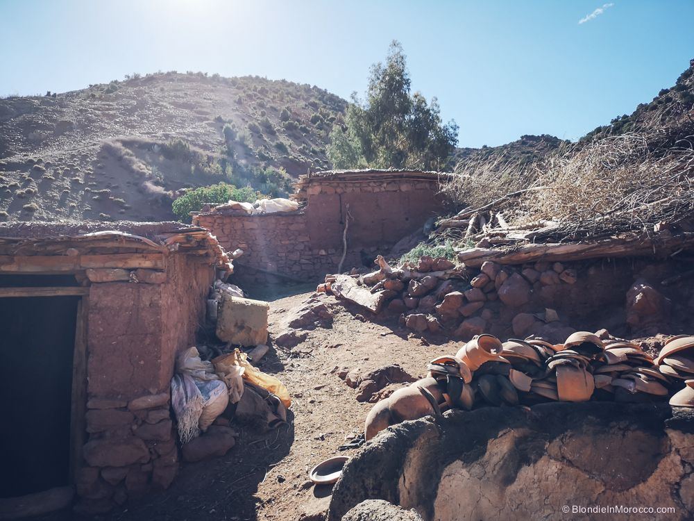 morocco, village, mountains