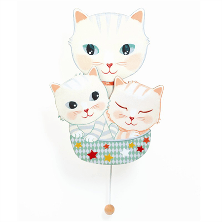 CAJA DE MUSICA GATITOS – DJECO LITTLE BIG ROOM