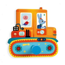 PERCHERO INFANTIL VEHICULO – DJECO LITTLE BIG ROOM