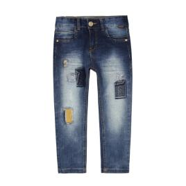 PANTALON DENIM PUNTO BLUE – BOBOLI