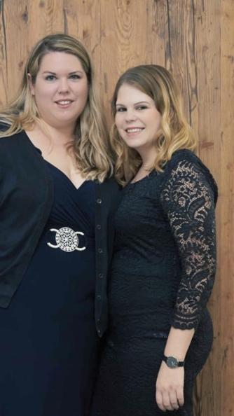 Ich mit meiner Schwester im Oktober 2018