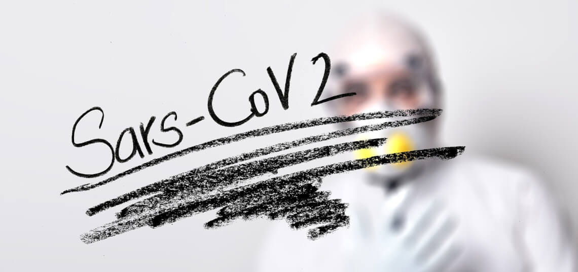 Schrift: Sars-CoV 2