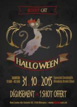 Halloween - Bloody Cat
