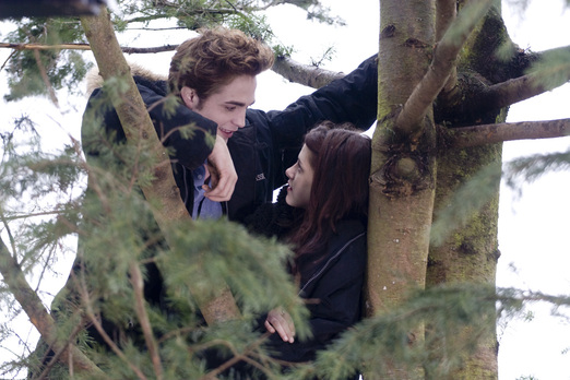 Twilight - Edward dan Bella di Atas Pohon