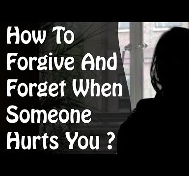 How to Forget Someone Who Hurt You