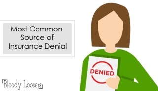Most Common Source of Insurance Denial