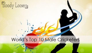 Top 10 Male Cricketers of The World