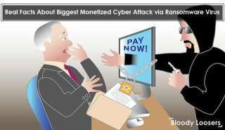Real Facts About Biggest Monetized Cyber Attack via Ransomware Virus