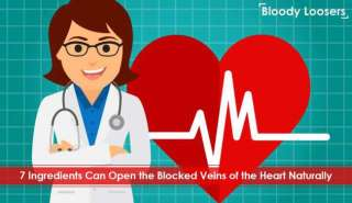 7 Ingredients Can Open the Blocked Veins of the Heart Naturally
