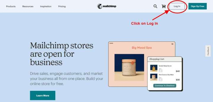 Step 2 - Create an Email List in MailChimp