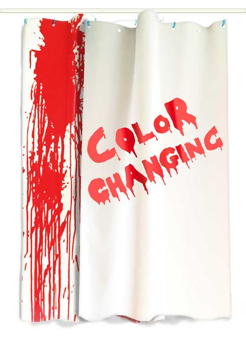 bloody shower curtain psycho curtains