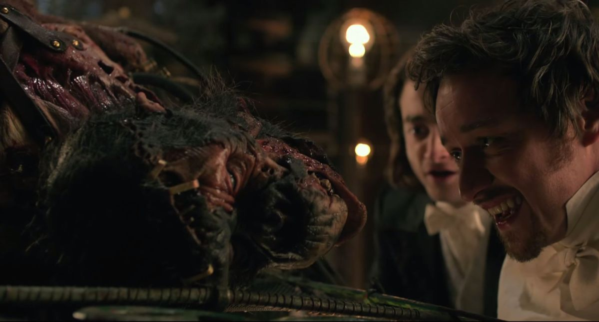 Victor Frankenstein: a Hunchback, a Circus and a Hybrid Monkey Monster
