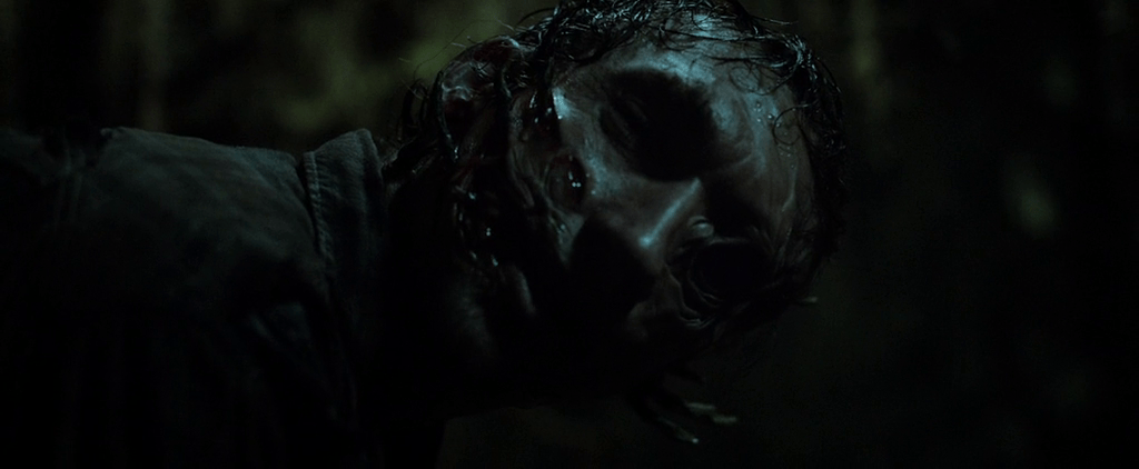horror movie slime Black