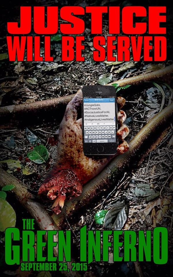 green inferno alt poster