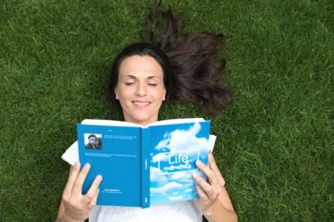 woman-book-grass