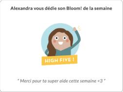 Bloom at Work : un outil pour développer le sentiment de reconnaissance en entreprise