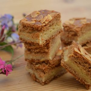 Stack of Spiced Almond biscuits