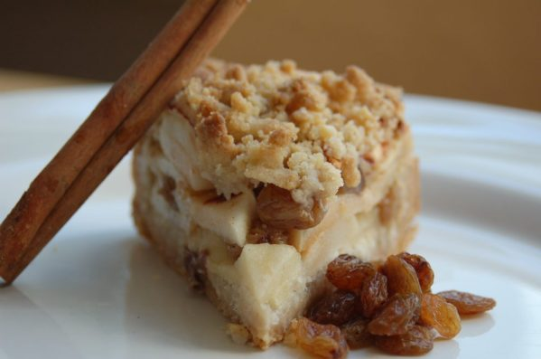 A slice of Apple Crumble Pie from Bloom Bakers