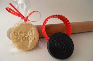 Bespoke biscuits made for awards show of Penguin Publishers