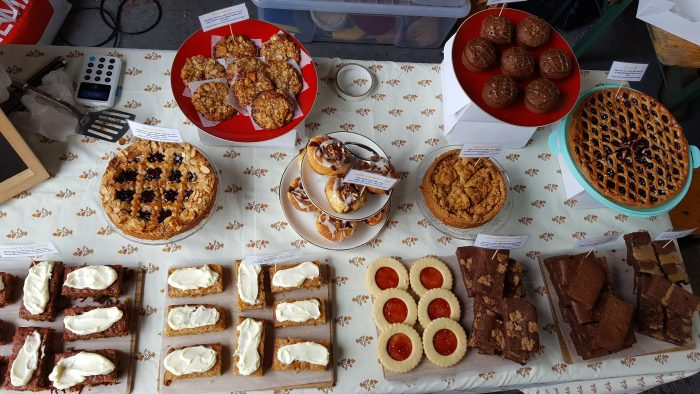 Bloom Bakers spread of treats at eat north in Leeds