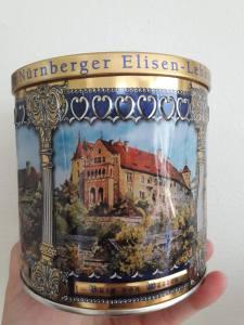 Nurnberger Elisen-Lebkuchen tin