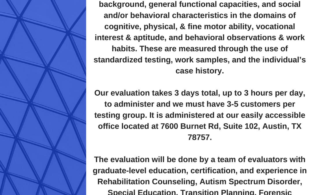 Bloom Consulting is Now Accepting Referrals for TWC-Funded Vocational Evaluations