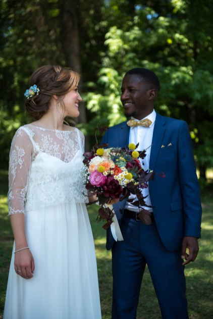 Claire & Mamadou