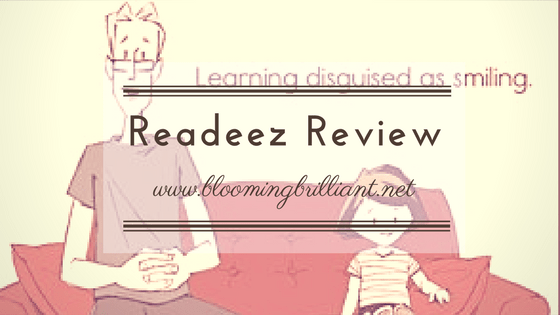 Readeez Review, learning disguised as smiling.