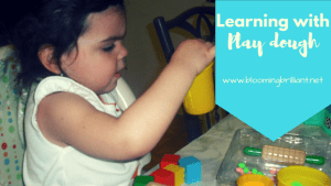 Learning with Play Dough