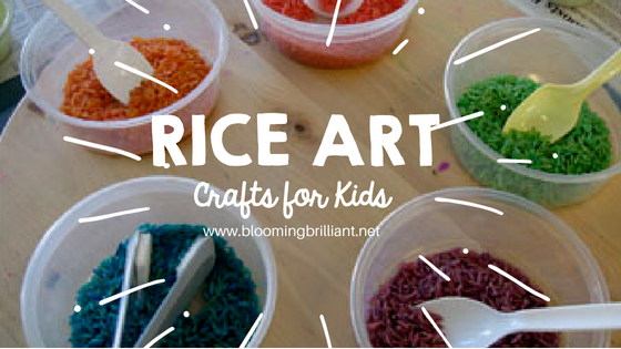 Forget markers or crayons. For a really unusual art project, close the art supply cabinet, and crack open the pantry! This activity lets kids use colored rice to make pictures. Come let's create Rice Art!
