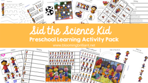Sid the Science Kid Preschool Learning Activity Kit