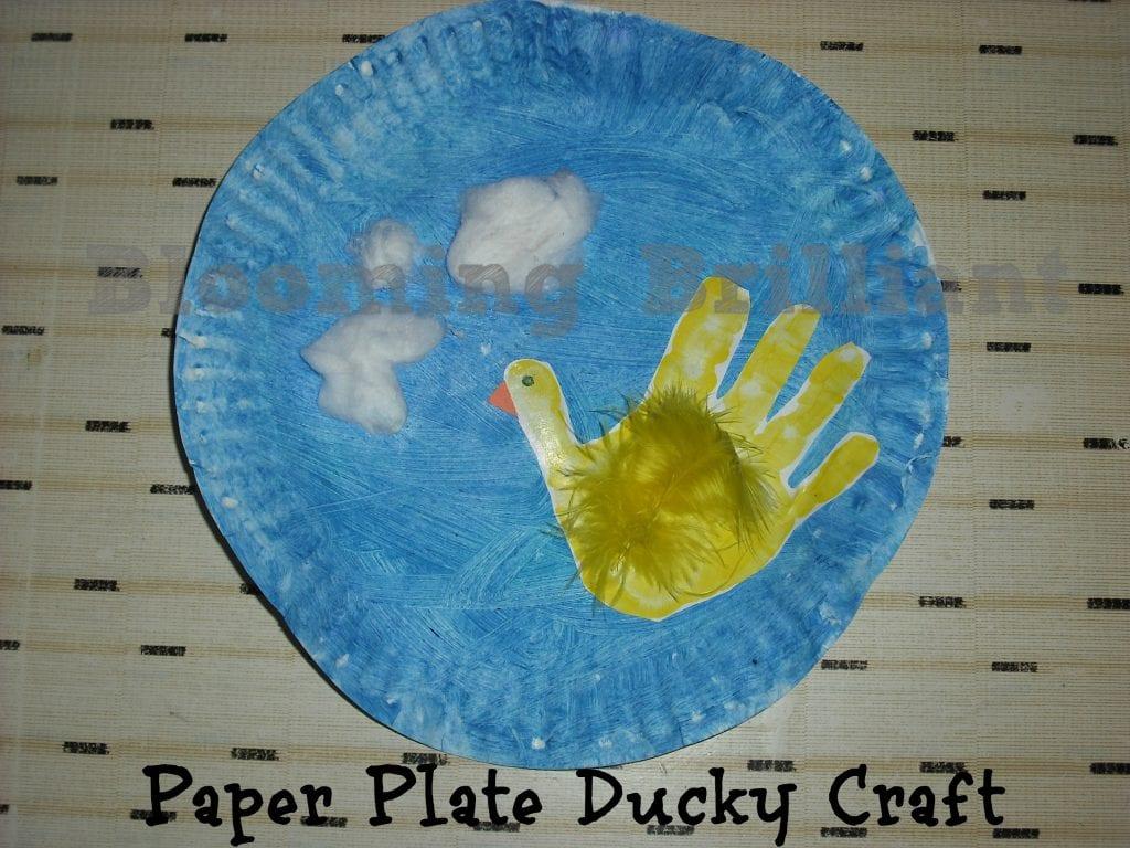 10 Little Rubber Ducks Craft