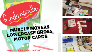 Muscle Movers Lowercase Gross Motor Cards