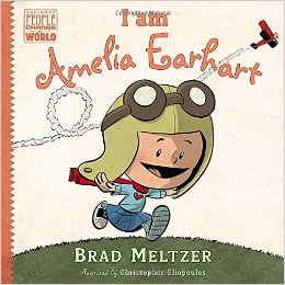 Amelia Earhart KidLit Book Picks for kids interested in strong female rolemodels.