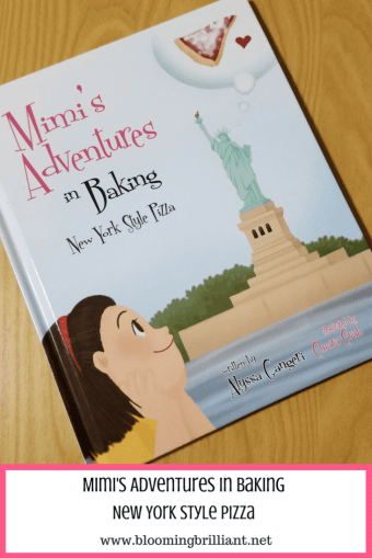 Learn how to make your own New York Style Pizza in this wonderful children's book, Mimi's Adventures in Baking New York Style Pizza.