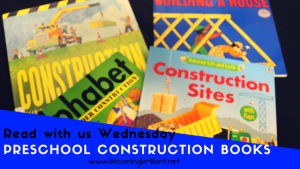 Preschool Construction #KidLit #BookReview