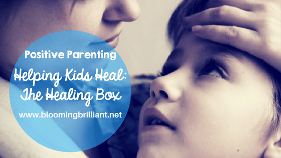 Do your kids sometimes come home with a mood they just cannot shake? Helping your kids heal with a simple strategy.
