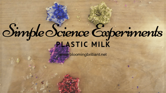 Did you know you could get plastic out of your milk? Well, it isn't exactly plastic. Check out this fun and easy science!