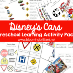 DISNEY CARS PRESCHOOL LEARNING ACTIVITY PACK
