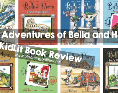 The Adventures of Bella & Harry is a picture book series that chronicles the escapades of a pup named Bella, her little brother Harry and their family, who travel the world exploring the sights and sounds of new, exciting cities.