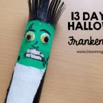 Halloween Frankenstein Craft