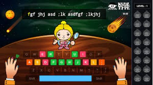 Teaching Touch Typing with KidzType