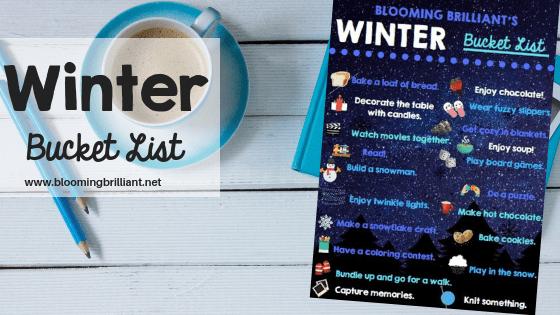 Winter Bucket List (Family Friendly)