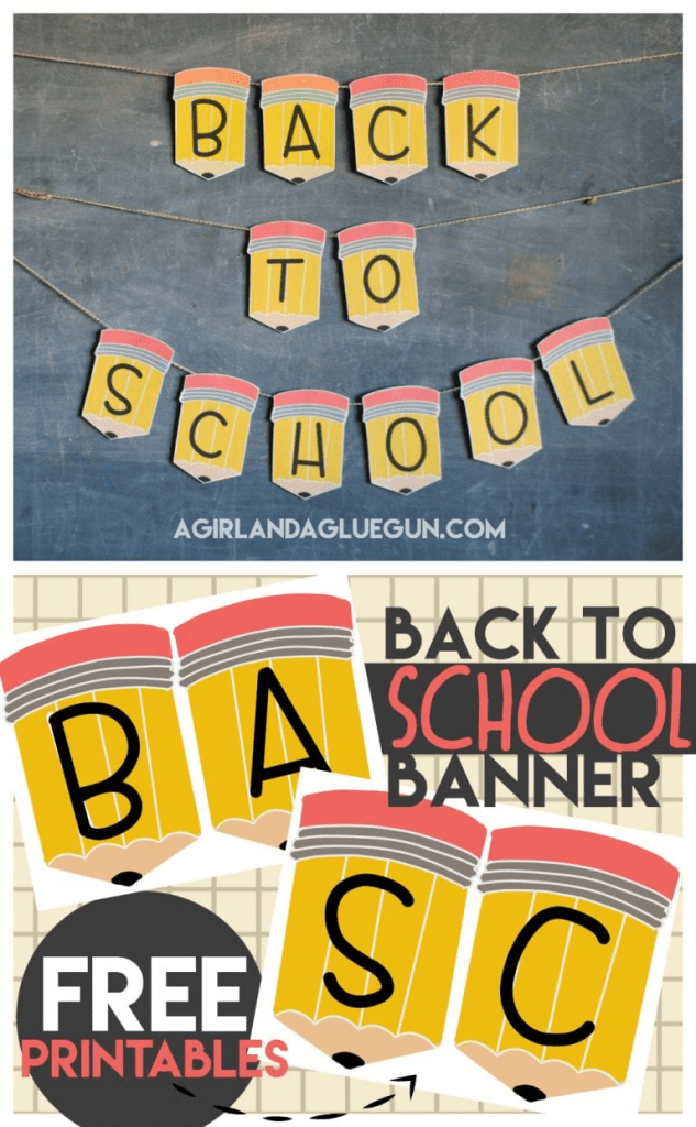 Back to Homeschool Party Banner
