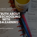 The Truth About Homeschooling with Time4Learning