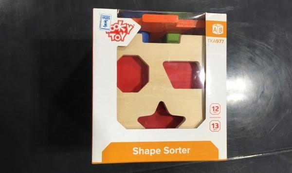 Tooky Toy - Shape Sorter